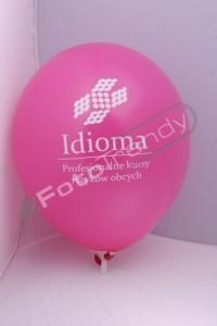 Balony z helem promocją siedziby firmy